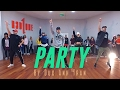 "Chris Brown ""PARTY"" Choreography by Duc Anh Tran"