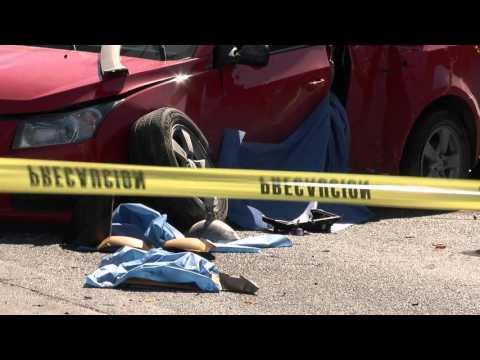 Las Noticias - Muere padre e hijo impactados por un conductor ebrio