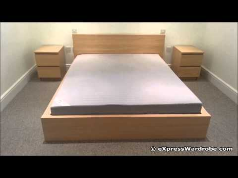 Ikea malm platform bed instructions images - Malm storage bed instructions ...