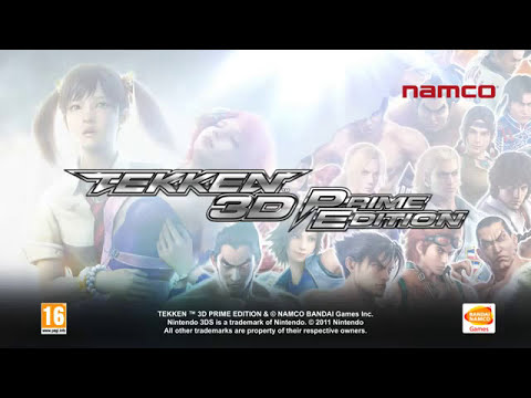 Video promocional de Tekken 3D Prime Edition.