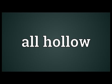 Header of all hollow
