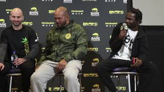 "Charles 'Felony/Crazy Horse' calls Johnny Bedford ""bedwetter"" at BKFC 9 Q&A"