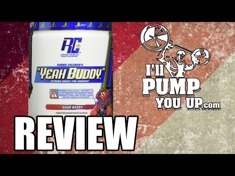 Ronnie Coleman - Yeah Buddy Pre-WorkoutSupplement Review & Taste Test