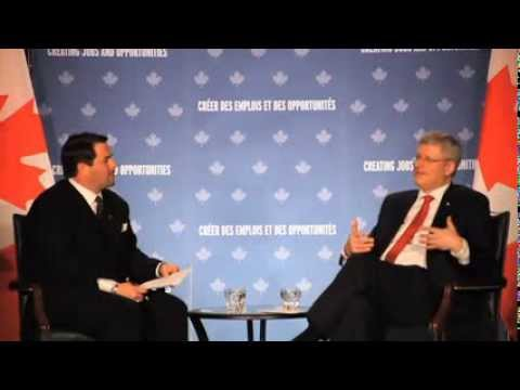 A Conversation with Prime Minister Stephen Harper