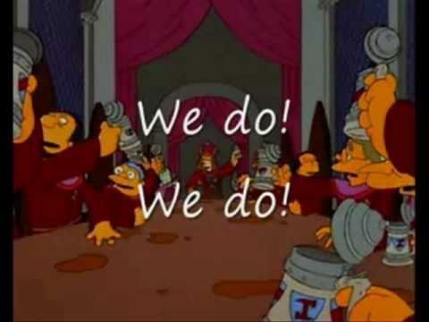 Simpsons Freemasons Illuminati Stonecutters Song YouTube