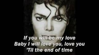 Michael Jackson Video - Michael Jackson - Butterflies with Lyrics