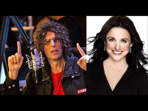 Julia Louis Dreyfus on The Howard Stern Show