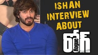 Ishaan Press Meet about Rogue Movie | Puri Jagannadh,Angela,Mannara Chopra