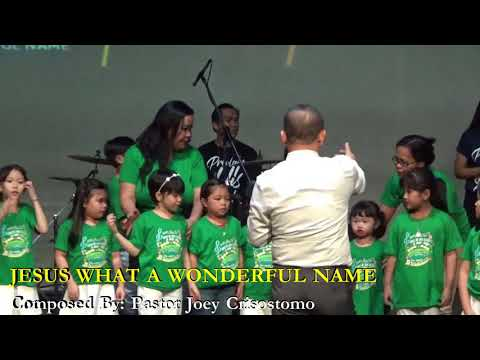 NEW SONG: JESUS WHAT A WONDERFUL NAME