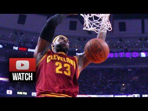 LeBron James Full Highlights at Bulls (2014.10.31) - 36 Pts, 8 Reb, Sick!