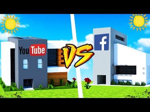 DOM YOUTUBE VS DOM FACEBOOK - MINECRAFT | VITO VS GPLAY