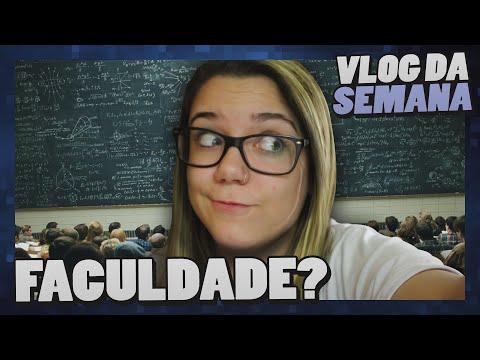 Malena Na Faculdade! - Vlog Da Semana video