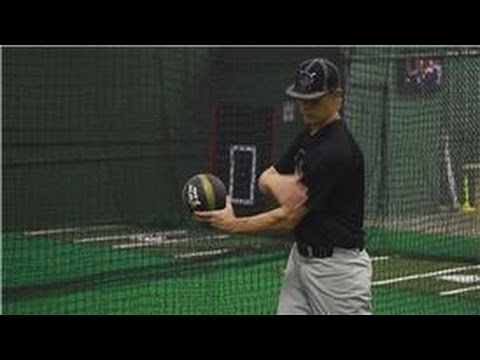 Baseball Training : Medicine Ball Rotational Exercises for Baseball Image 1