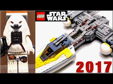 LEGO Star Wars 75172 Звёздный истребитель типа Y Обзор Y-wing Starfighter