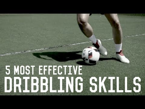 5 Most Effective Moves To Beat a Defender | Easy Dribbling Skills Tutorial For Footballers