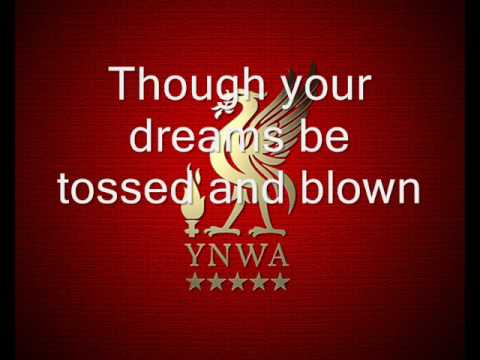 F.c. Liverpool - You'll Never Walk Alone With Lyrics video