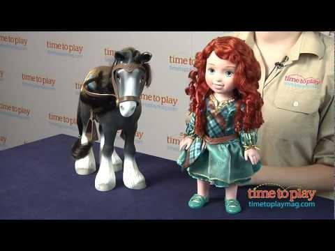 Disney/Pixar's Brave Merida with Angus from Tollytots