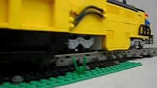 LEGO Track laying machine... and it works! 3