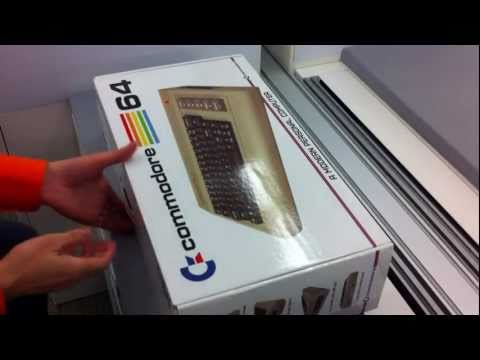 Commodore 64x Unboxing, signed by the late Barry Altman