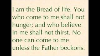 Suzanne Toolan, RSM: I Am The Bread of Life