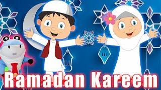 RAMADAN SONG FOR KIDS WITH MARK THE SHARK 2018 ISLAMIC CARTOON - ZAKY BABY SHARK SONGS FOR KIDS