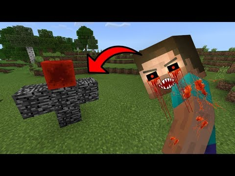 How To Spawn HEROBRINE.EXE in Minecraft PE