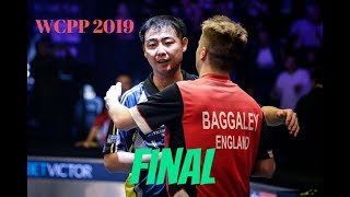 World championships of Ping Pong 2019 FINAL Andrew Baggaley - Wang Shibo