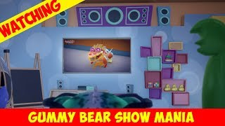 """Watching Gummy Watch Himself Watch """"Night of the Living Leftovers"""" - Gummy Bear Show MANIA"""