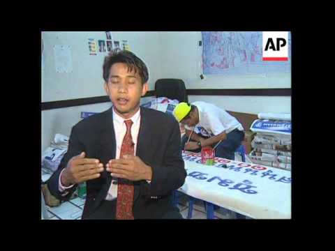 THAILAND: BANGKOK: POP STAR IS CANDIDATE IN GENERAL ELECTION
