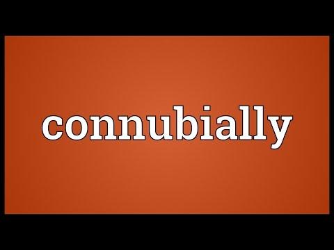 Header of connubially