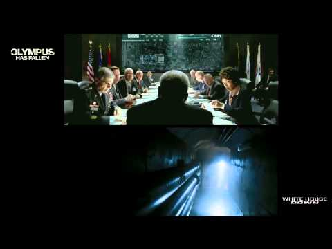 Olympus Has Fallen Vs White House Down Side-by-side video