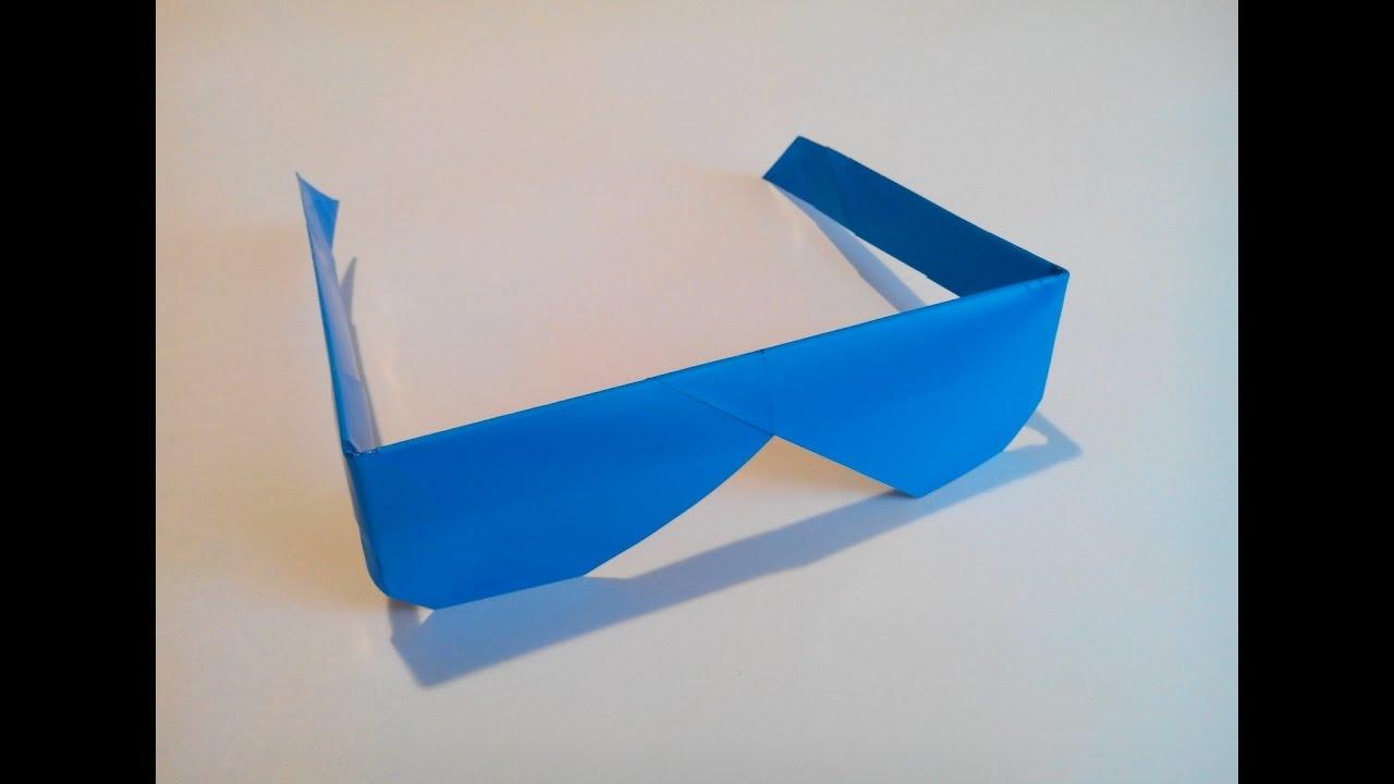 Как сделать очки из бумаги своими руками поэтапно фото для начинающих 3