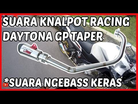 Suara Knalpot Racing Vixion  Daytona GP Taper STD