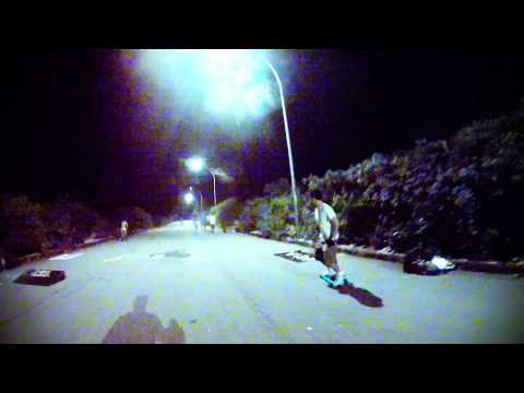 Skate Night no Condomínio Mundo Novo (1ª descida) (HD 1080p)