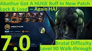 StarCraft 2: New Possible Strategy For Abathur! Patch 3.13, Walk-through-Brutal, Co-op