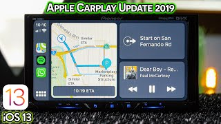 Apple Carplay Update 2019 with iOS 13 Beta - New Changes!