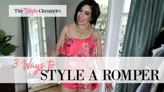 How to Style a Romper - 3 Ways