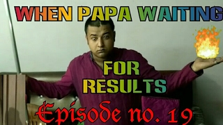 When Father (  Papa  )Waiting For Result | Hindi Funny Comedy Videos |BaBa ka Adda | funny comedy