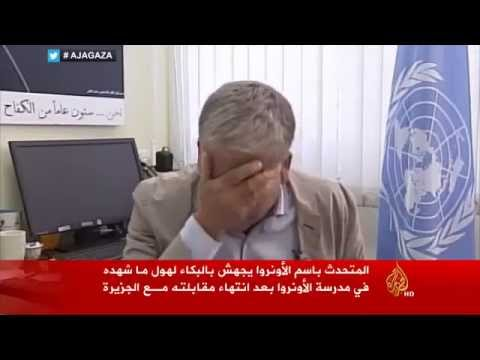 Gaza: UN Official Breaks Down On Air