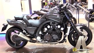 2015 Yamaha V-Max - Walkaround - 2014 EICMA Milan Motorcycle Exhibition