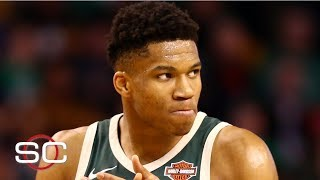 NBA film study: The Greek Freak is virtually indefensible in the paint | SportsCenter
