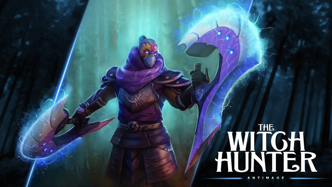 Witch Hunter Set Dota 2 Anti-mage Set Dota 2