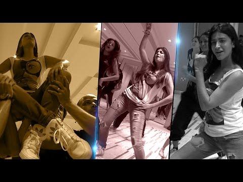 Shruti Hassan Dance Rehearsal Unseen || Siima 2015