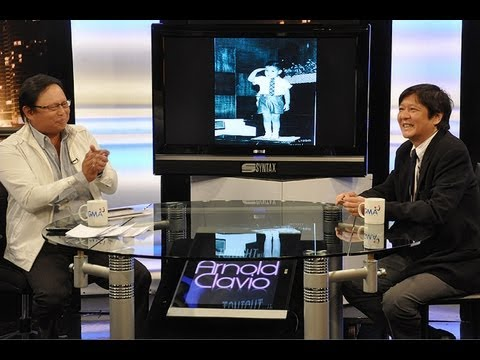 Sen. Bongbong Marcos - Tonight with Arnold Clavio (15 August 2010)