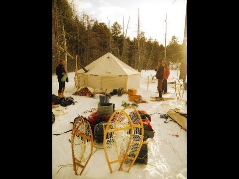 Intro to Traditional Winter Camping in Killarney 2013