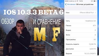 ОБЗОР IOS 10.3.3 BETA 6 (GM) - What