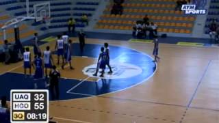 Basquetbol UAQ vs ITESM Hidalgo Varonil Universiada Nacional 2013