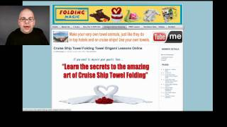 Cruise Ship Towel Folding Towel Origami
