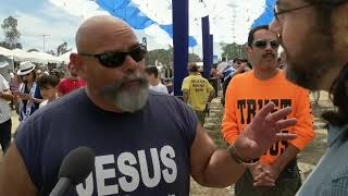 Video: Moses would not buy that T-shirt! - Ruben Israel