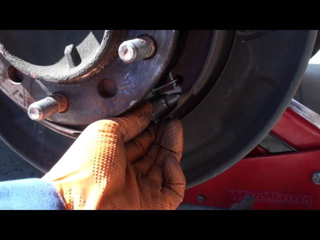 2013 Toyota Tundra Parking Brake Adjustment - YouTube